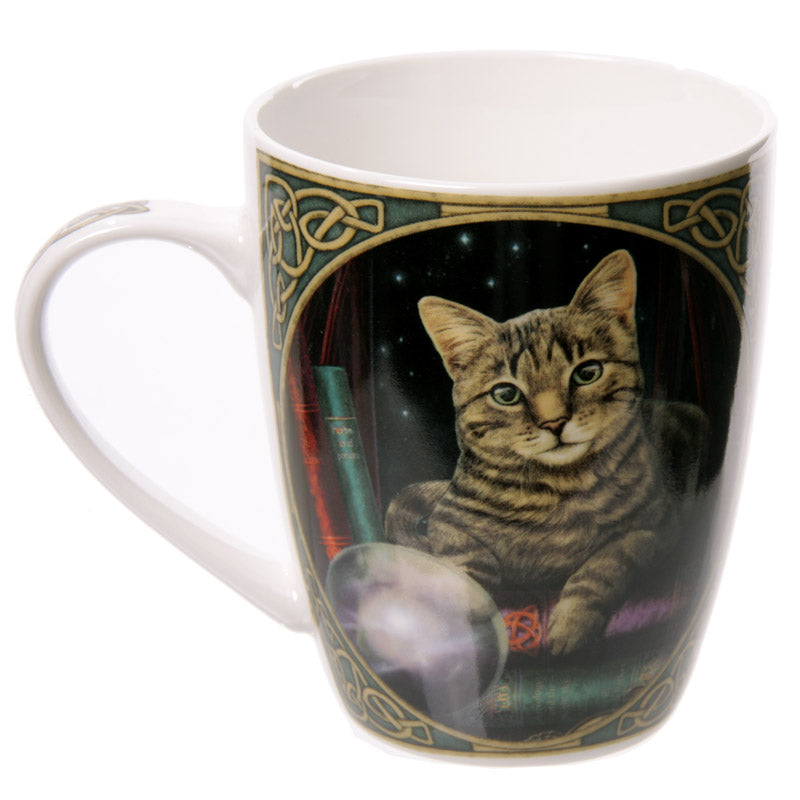 Cat Fortune Teller Lisa Parker Designed New Bone China Mug