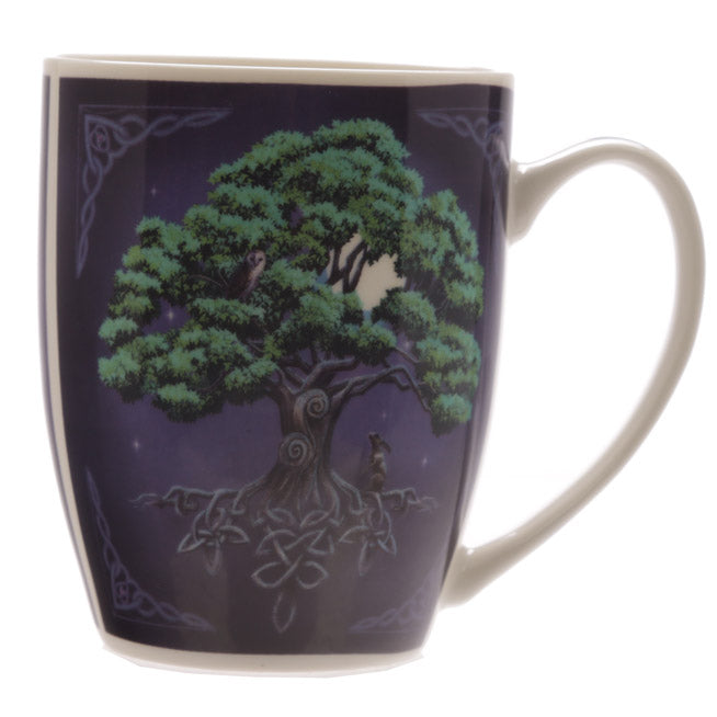 Tree of Life Lisa Parker New Bone China Mug