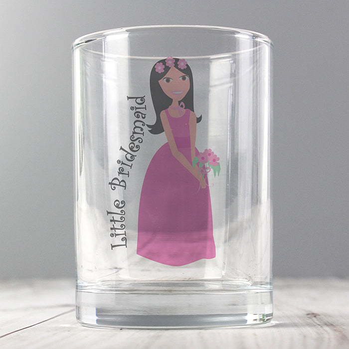 Fabulous Juice Glass Little Bridesmaid