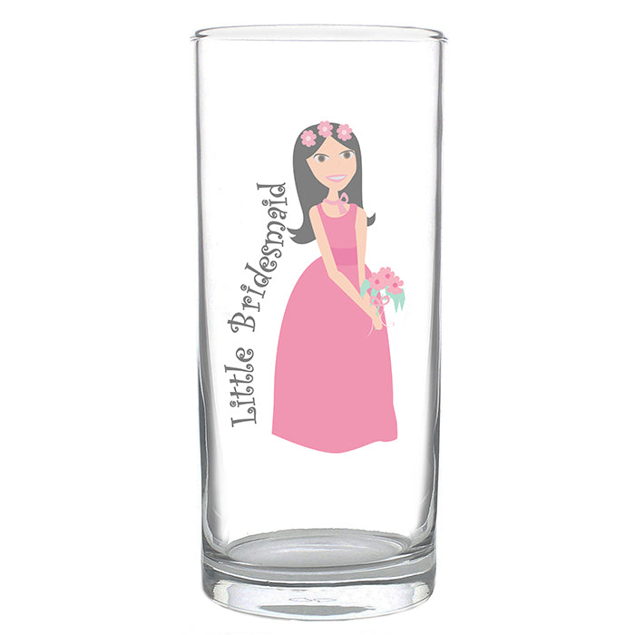 Fabulous Little Bridesmaid Hi Ball Glass