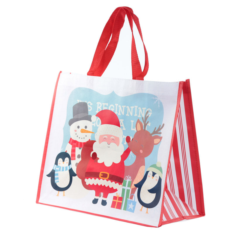 Cute Christmas Design Durable Reusable Shopping Bag