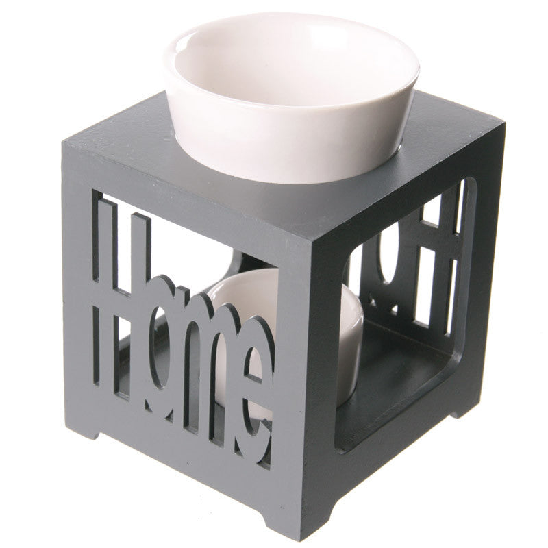 Wood and Ceramic HOME Oil Burner - Look4ward Store