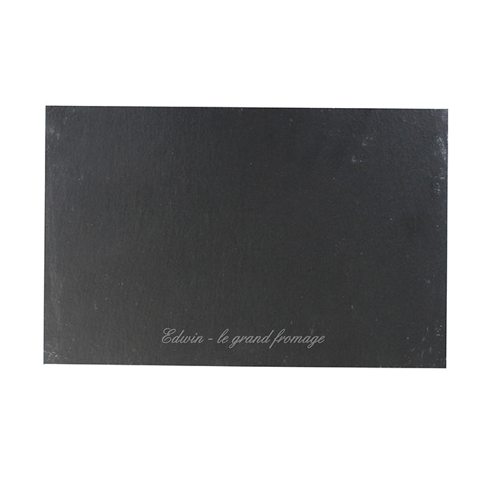 Personalised Engraved Slate Placemat