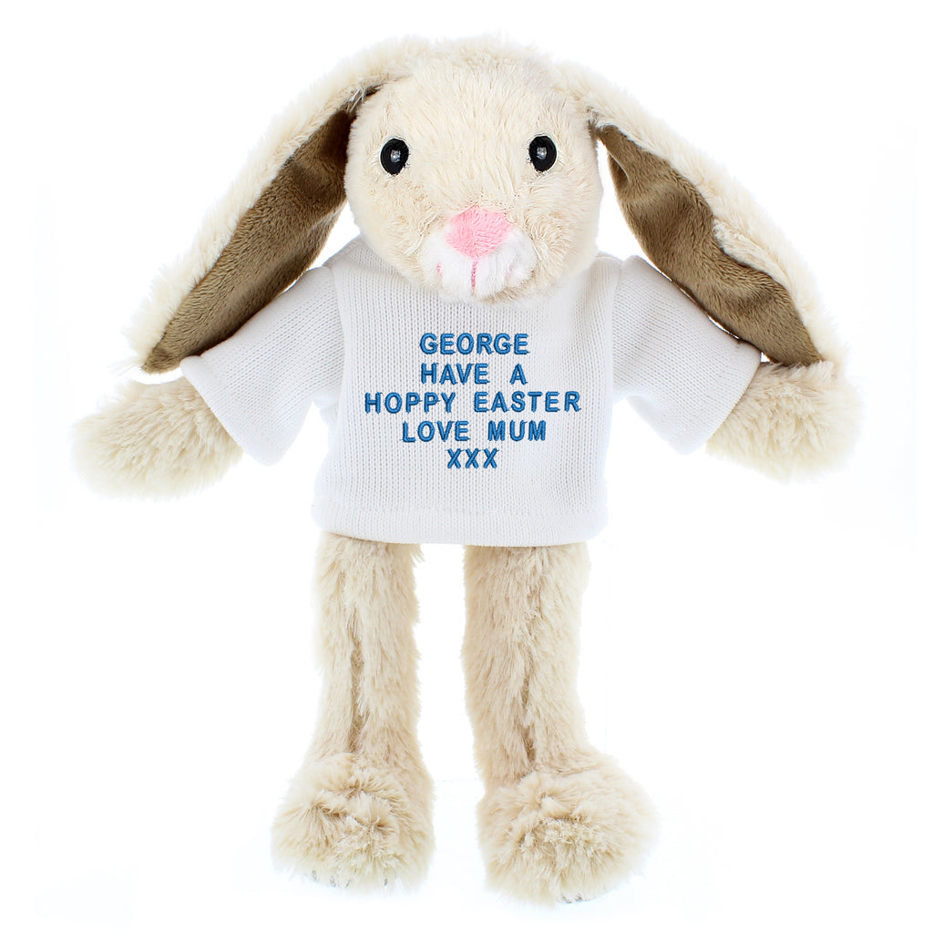 Personalised Message Bunny