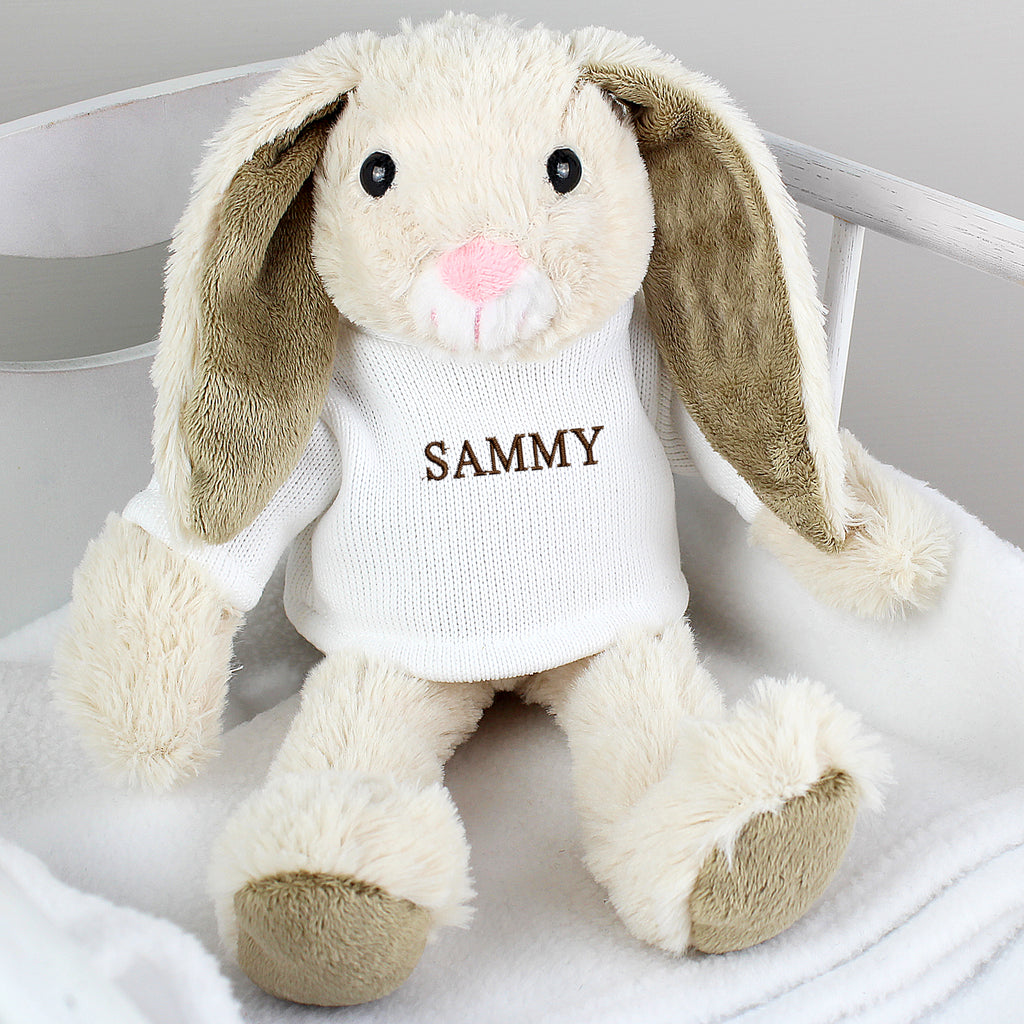Personalised Name Only Bunny