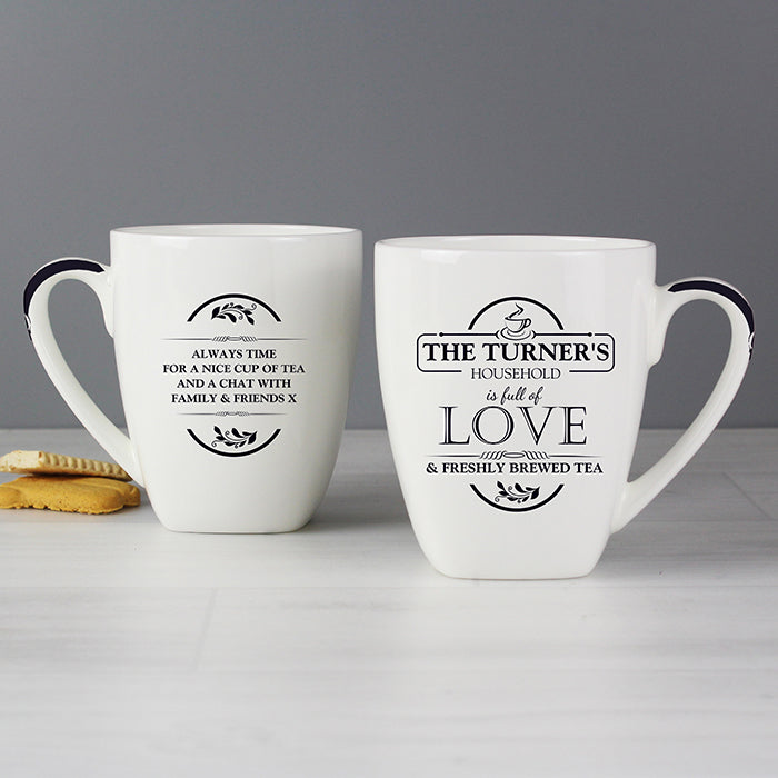 Personalised Full of Love Latte Mug