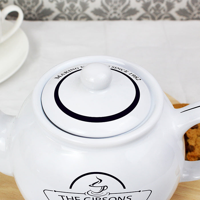 Personalised Full of Love Teapot