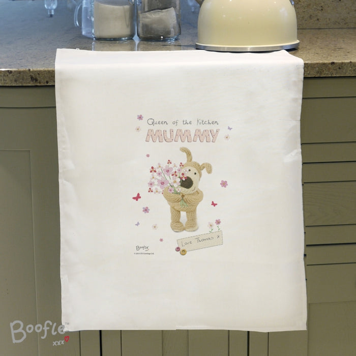 boofle tea towel