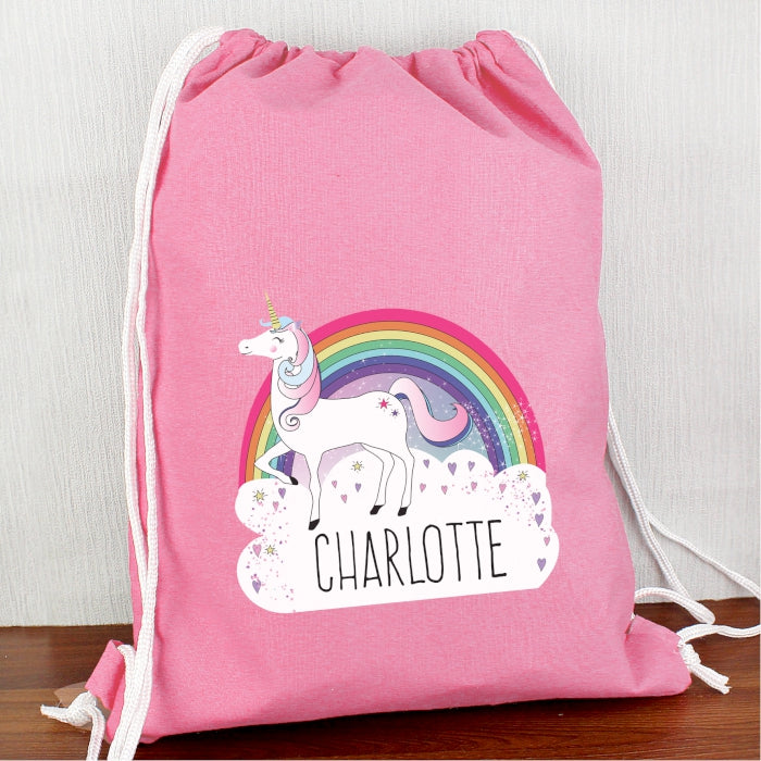 Personalised Unicorn Swim & Kit Bag