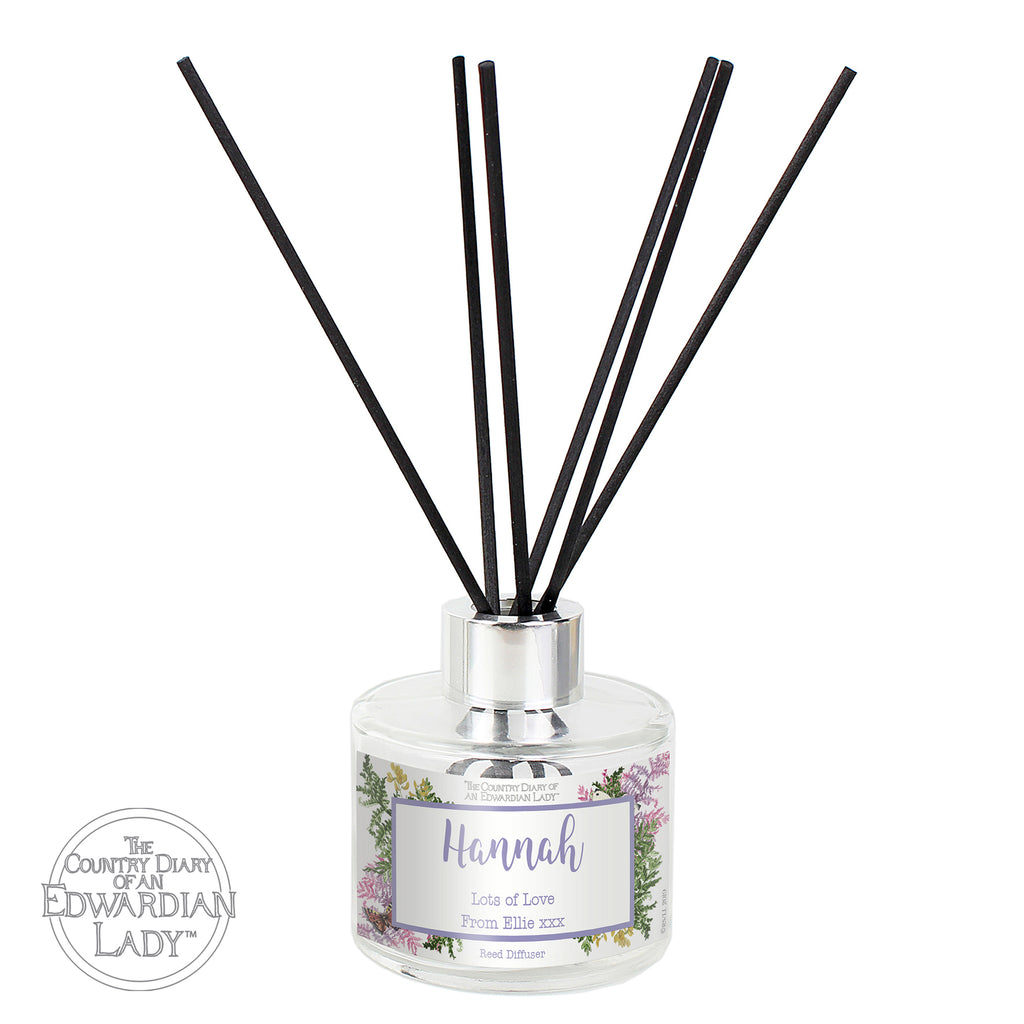 Personalised Country Diary Botanical Reed Diffuser