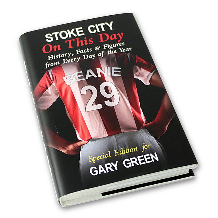 Personalised Stoke On This Day Book