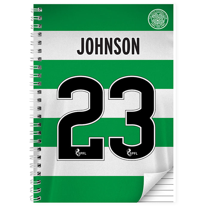Personalised Celtic Notebook