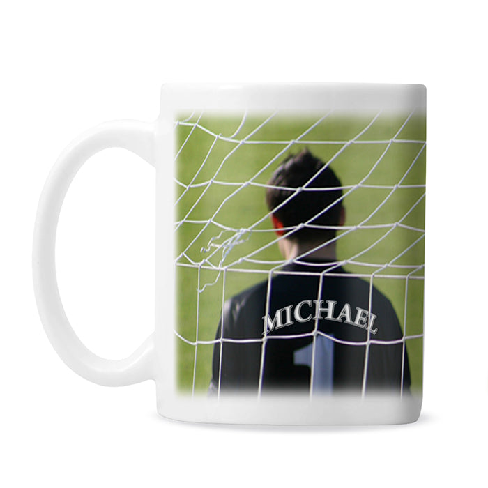 Personalised Goalkeeper Mug