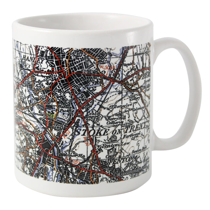 Personalised 1945 - 1948 New Popular Edition Map Mug