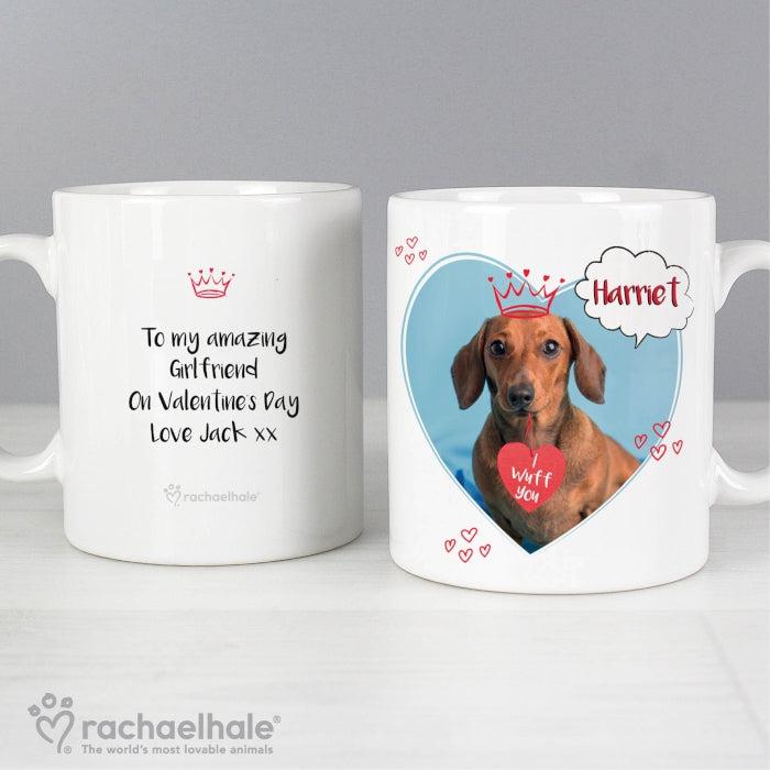 Personalised Rachael Hale 'I Wuff You' Mug