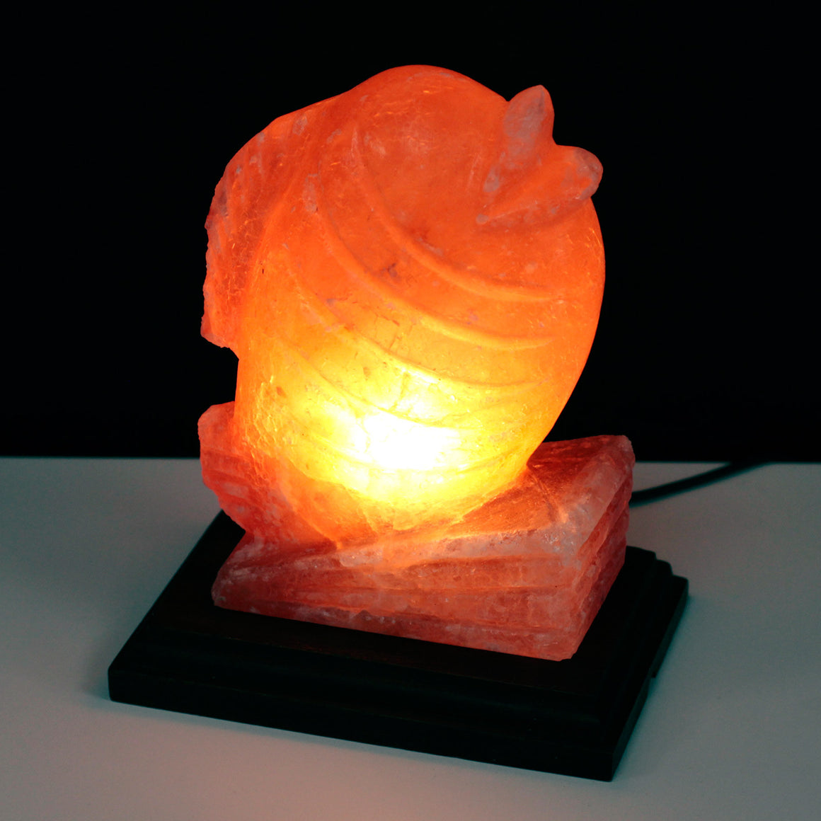 Animal Design Himalayan Salt Lamp - Fish