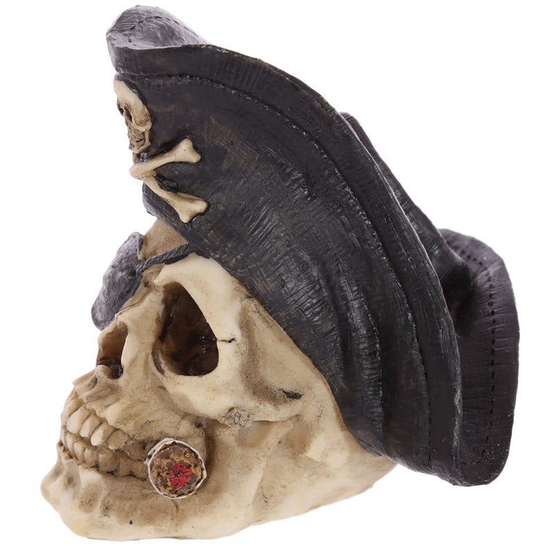 Gothic Pirate Skull Decoration