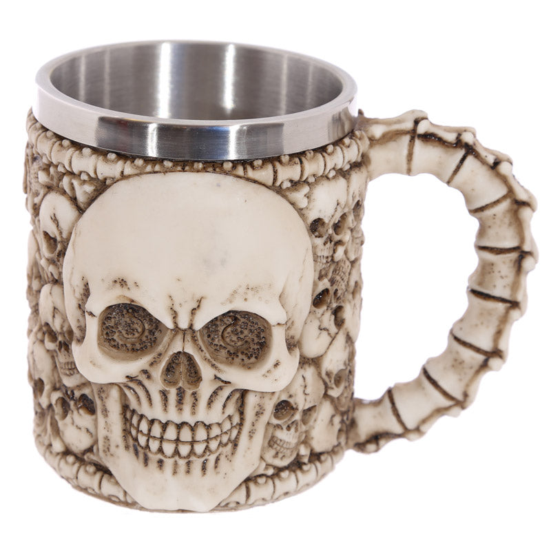Gothic Skull Decoration Decorative Multi Skull Tankard