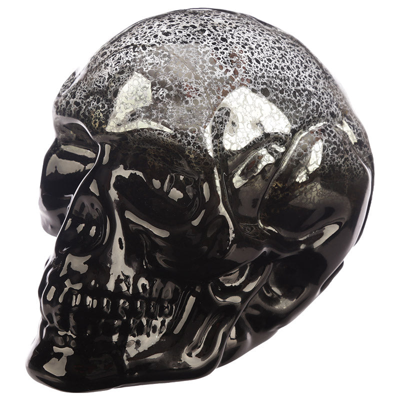 Decorative LED Light - Two Tone Metallic Skull