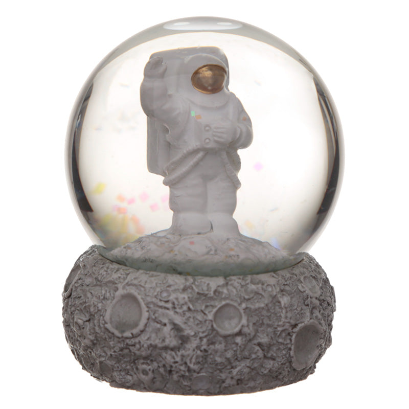 Decorative Moon and Space Man Snow Globe Waterball