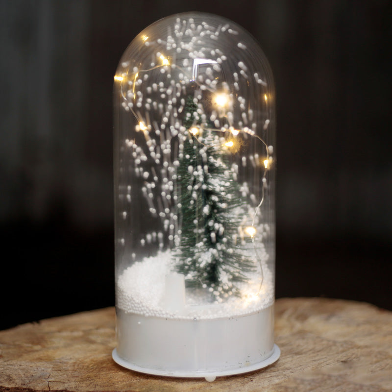Musical LED Christmas Snowstorm Decorative Dome