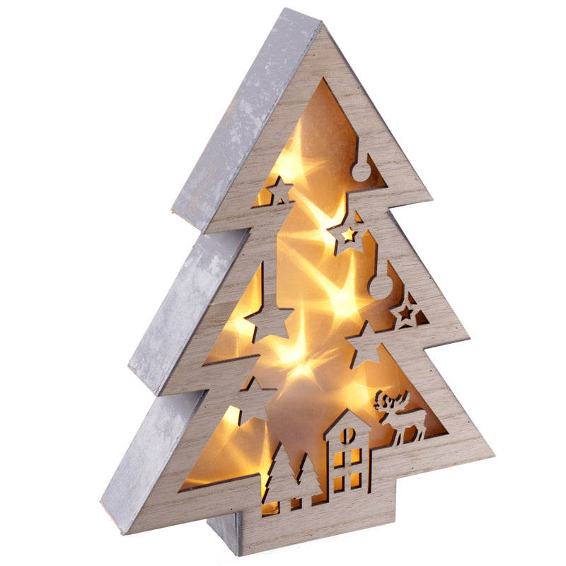 Decorative LED Light - Christmas Tree Scene
