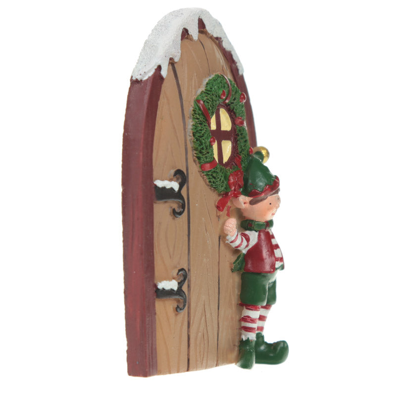 Festive Message to Santa Set - Christmas Elf Door