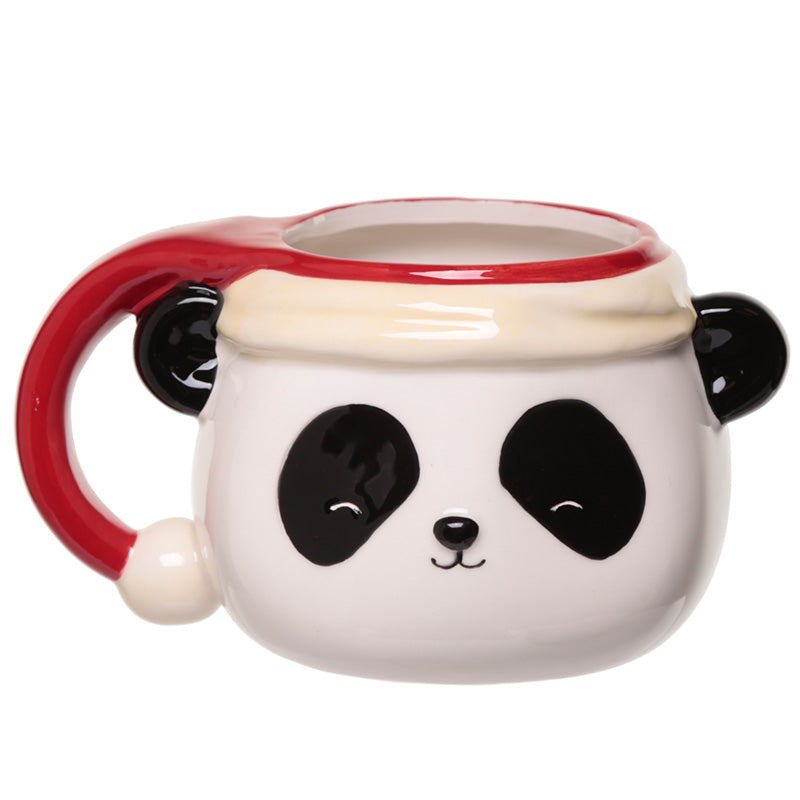 Pandarama Christmas Shaped Ceramic Mug