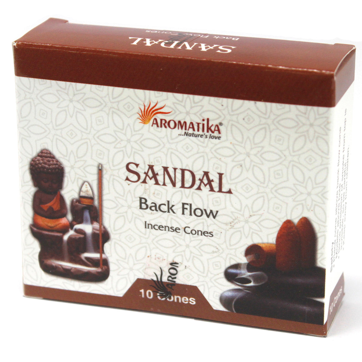 Sandalwood Aromatica Backflow Incense Cones