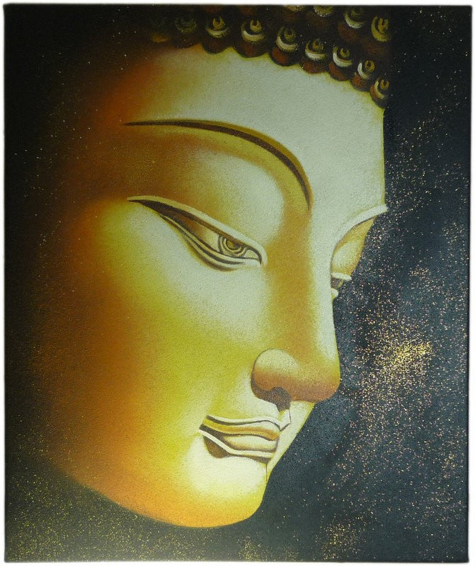 Golden Buddha - Real Art Painting