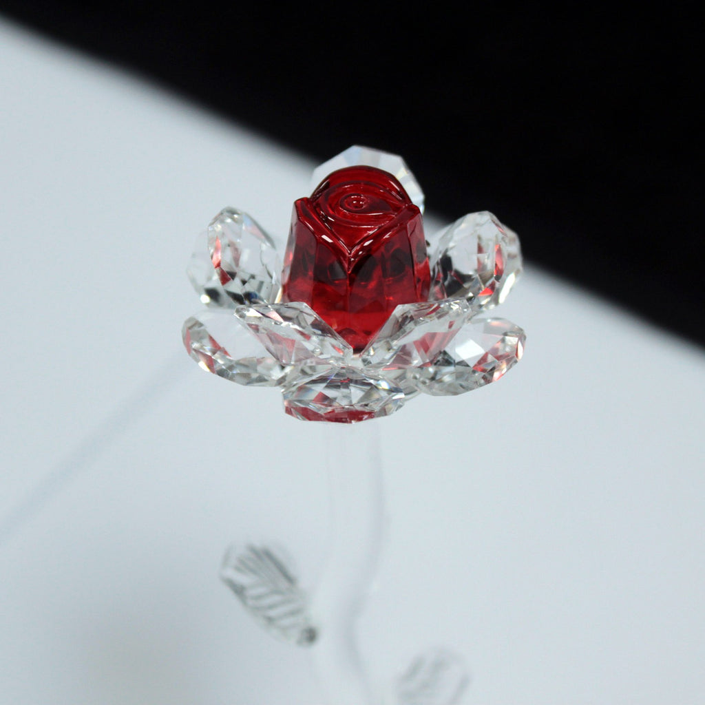 Star Crystal Rose - Red