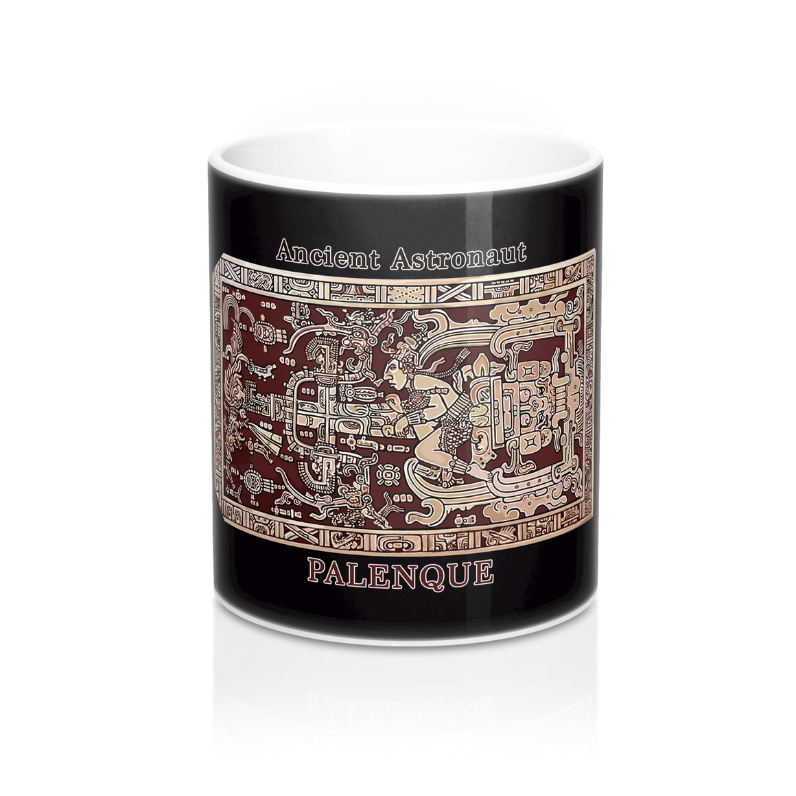 Ancient Astronaut - Palenque - Mug 11oz