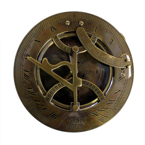 Large West London Sundial Compass Collectible