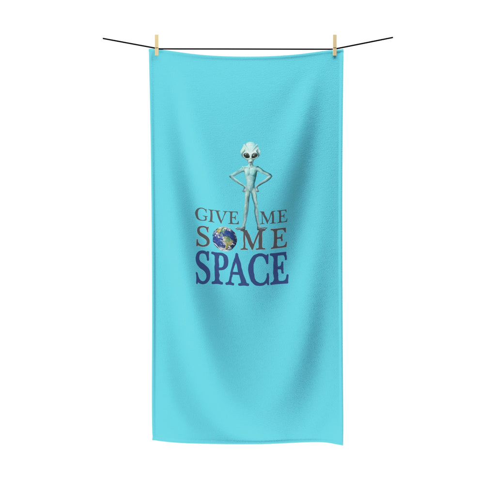 Give Me Some Space - Polycotton Beach/Bath Towels