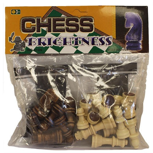 Just Chess Pieces - Large Wood