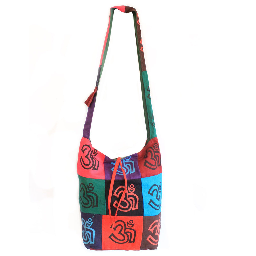 OM Cotton Patch Sling Bag