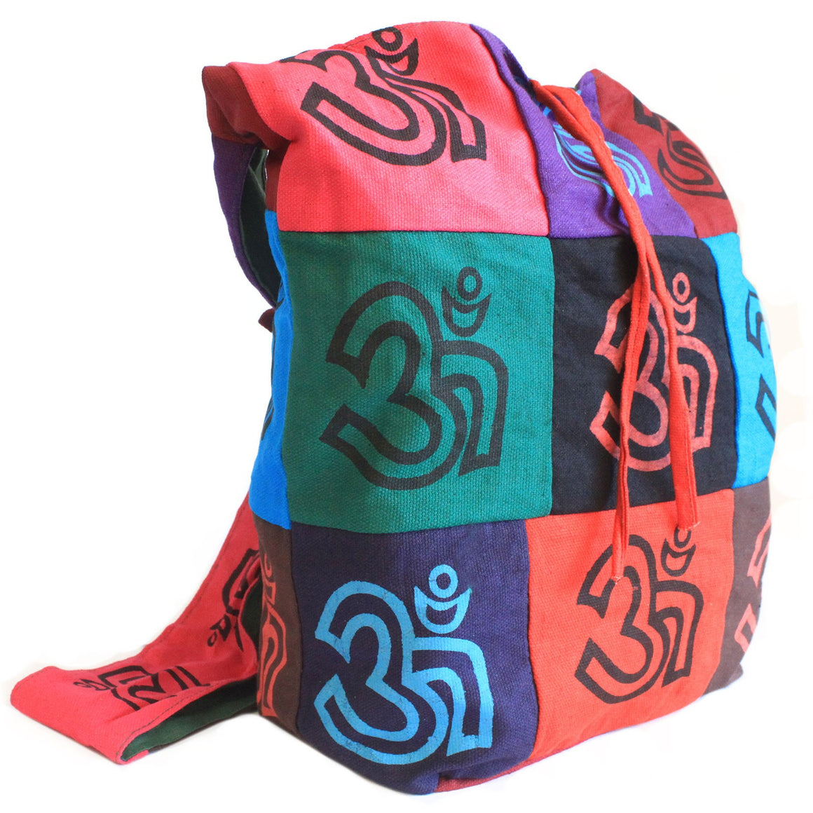 Bags, Cotton Patch Sling Bags, Ethnic Bags, Gift, India, Indian, OM