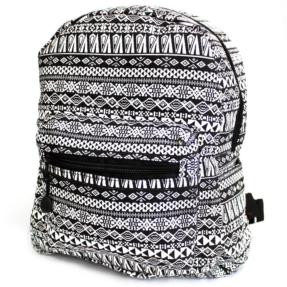 Black Jazz Undersized Ethnic Backpack