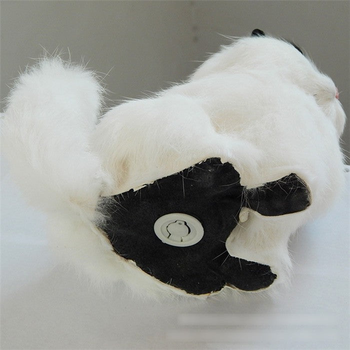 Furry Soft Cat Sound Toy