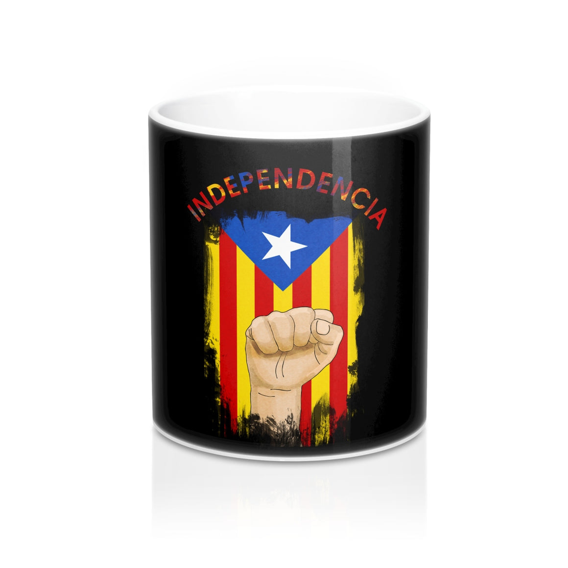 Independencia Catalonia Cataluna Mug 11oz Black