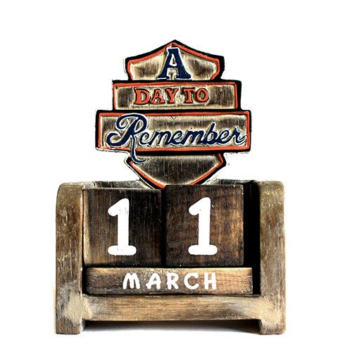 Day to Remember Pen Holder -  A Day to Remember - Carved Sign