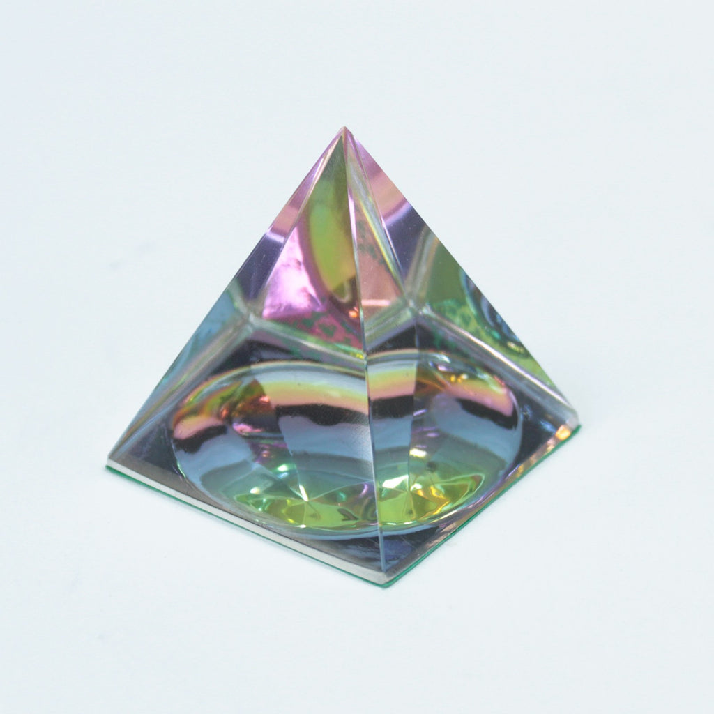 Esoteric Crystal Mystic Pyramid 50 mm