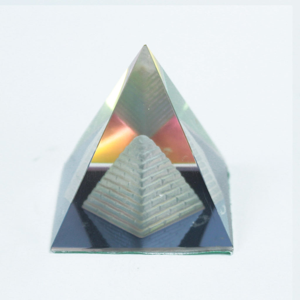 Esoteric Crystal Double Pyramid 50 mm