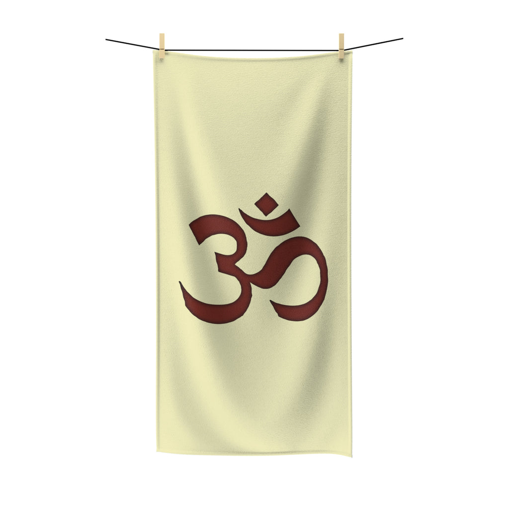 OM - Yoga - Polycotton Towel