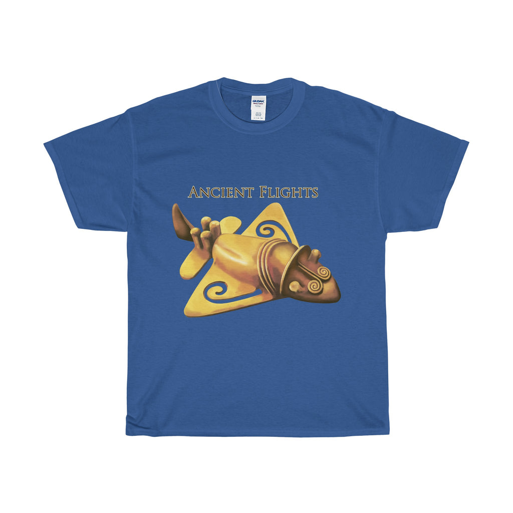 Ancient Flights - Unisex - Heavy Cotton T-shirt/Tee