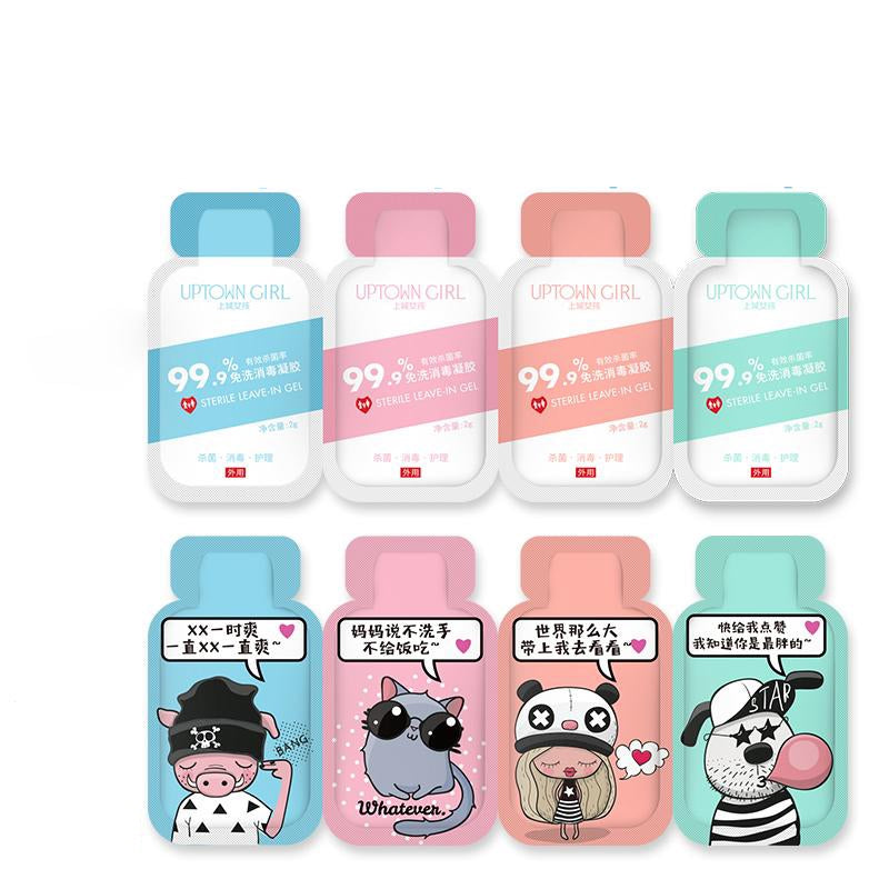 Funny Cartoon Characters Portable Antibacterial Hand Sanitiser (Pack of 48)