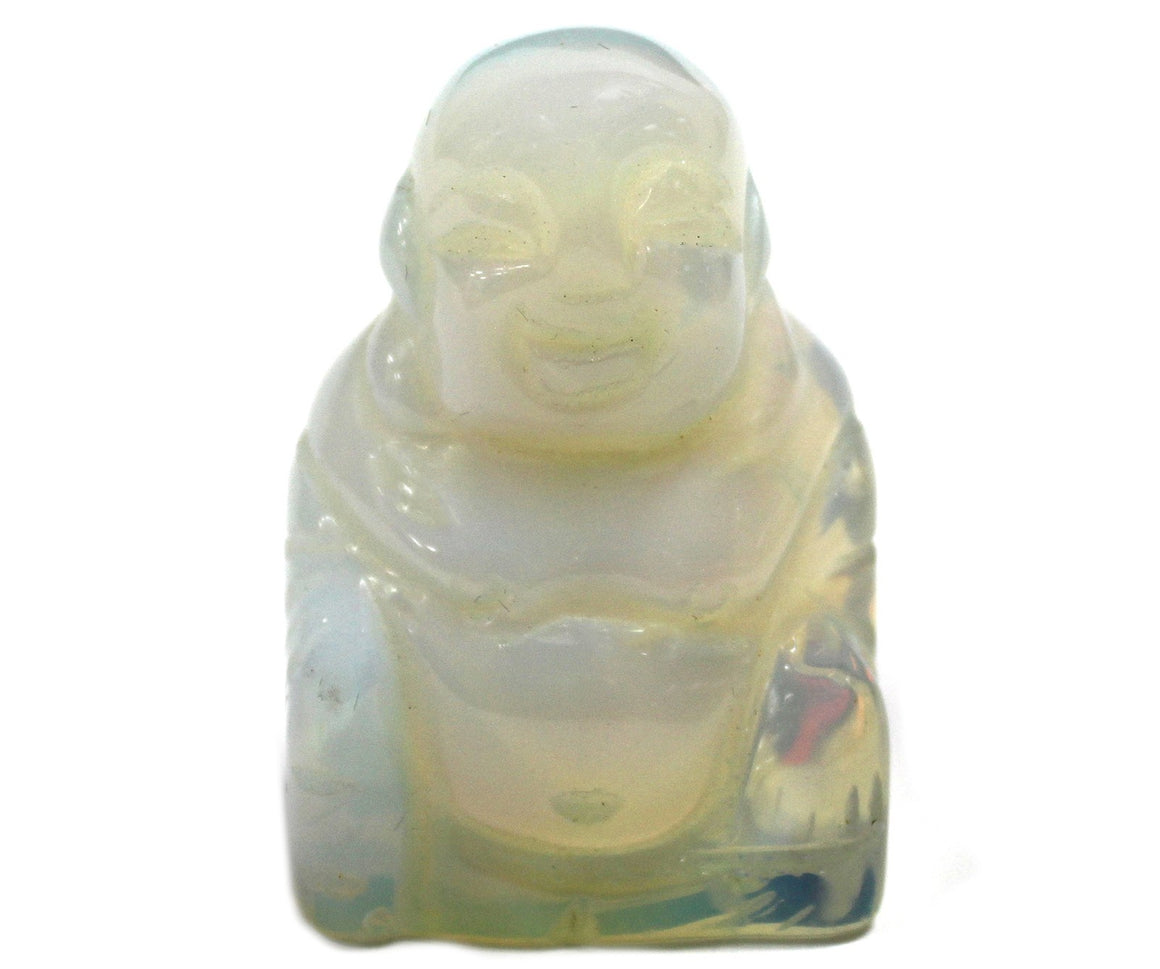 Gemstone Happy Buddha - Opalite