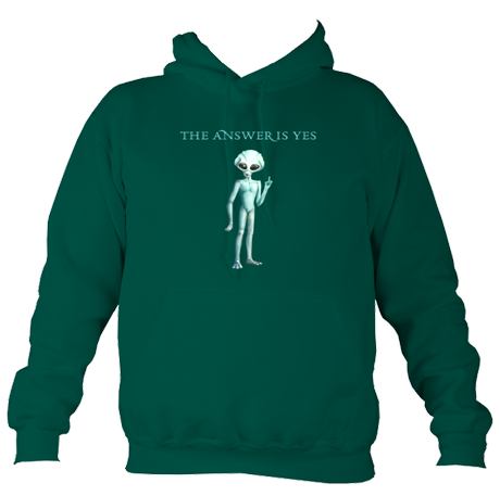 'The Answer Is Yes' Hoodie