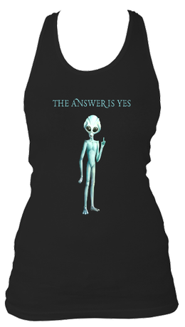 The Answer Is Yes - Women's Longer Length Tank