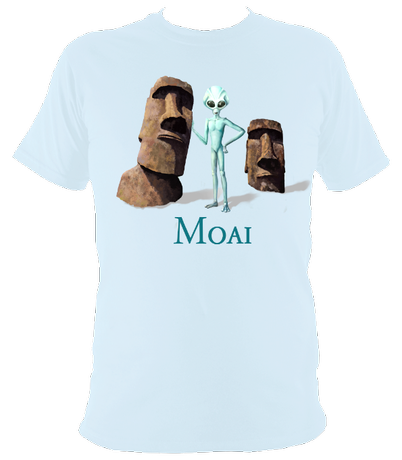 Moai - Easter Island - Men's T-Shirt